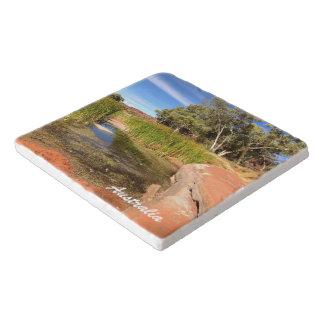 Australian outback stone trivet トリベット