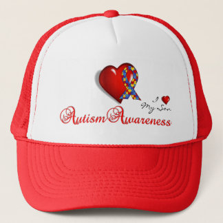 AutismAwの帽子 キャップ
