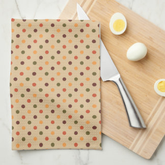 Autumn Dots Kitchen Towel キッチンタオル
