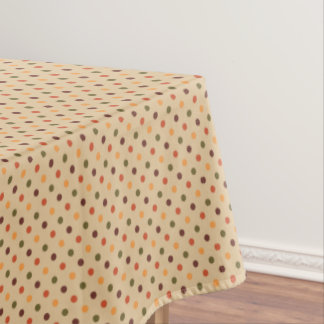 Autumn Dots Tablecloth テーブルクロス