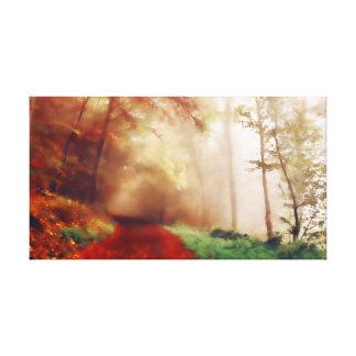 Autumn Forest キャンバスプリント
