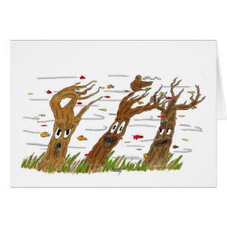 Autumn Trees Greeting Card カード