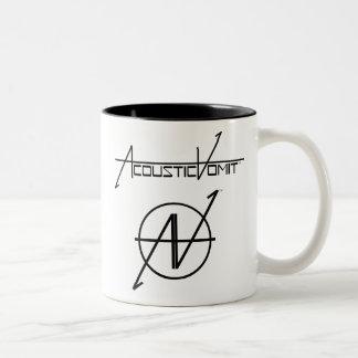 AVの名前及びロゴ15ozのマグ ツートーンマグカップ