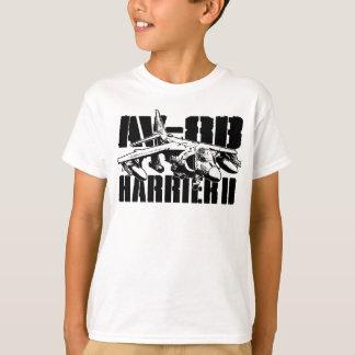 AV-8BのハリアーIIの子供の基本的なHanes Tagless Comfor Tシャツ