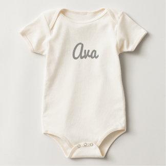 Avaのベビーの衣服 ベビーボディスーツ