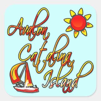 Avalon Catalinaの島 スクエアシール