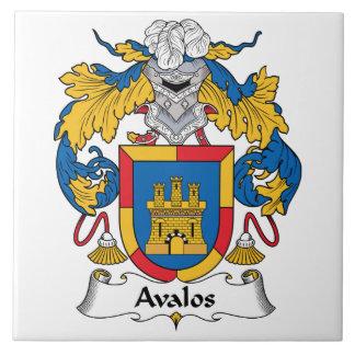 Avalosの家紋 タイル