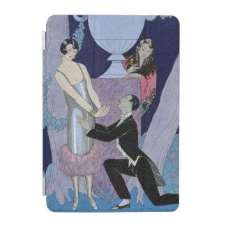 avarice 1924年(pochoirのプリント) iPad miniカバー