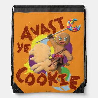 Avast Yeのクッキー ナップサック