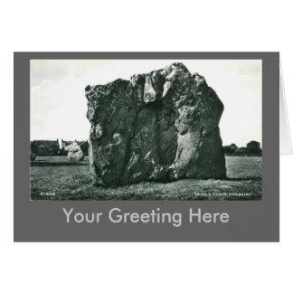 Aveburyの挨拶状 カード
