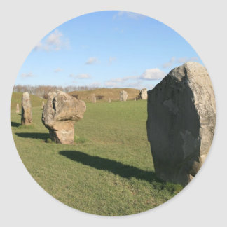 Aveburyの石 ラウンドシール