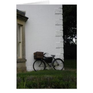 Aveburyの自転車- notecard カード