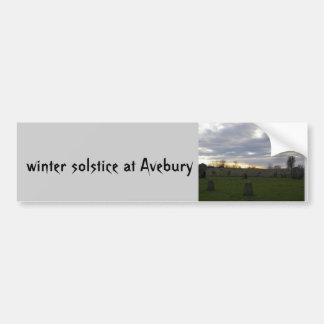 Aveburyの至 バンパーステッカー