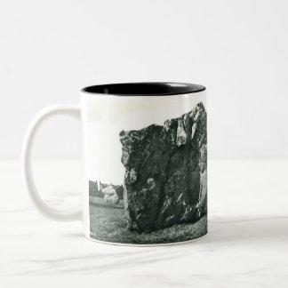 Aveburyの記念品のマグ ツートーンマグカップ