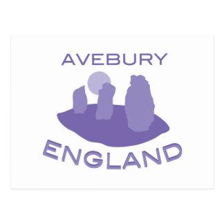 Aveburyイギリス ポストカード