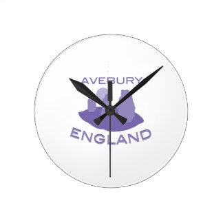 Aveburyイギリス ラウンド壁時計