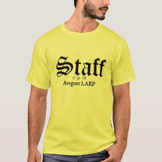 Avegostのスタッフ Tシャツ