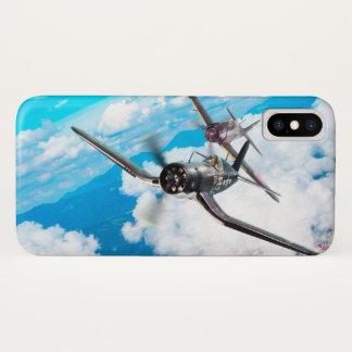 """Aviation Art Device Cass  """"F4U Corsair"""" iPhone X ケース"""