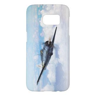 """Aviation Art Device Cass  """"F6F Hellcat"""" Samsung Galaxy S7 ケース"""