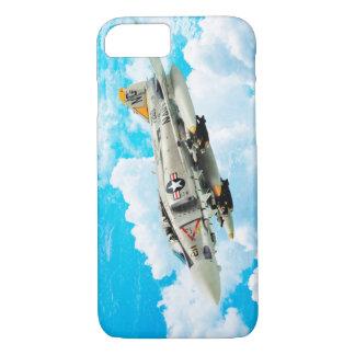 "Aviation Art Device Cass  ""F- 4 Phantom II"" iPhone 8/7ケース"