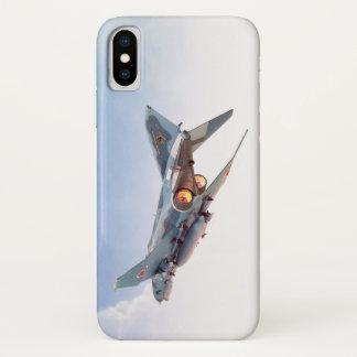 """Aviation Art Device Cass  """"F- 4 Phantom II  JASD"""" iPhone X ケース"""