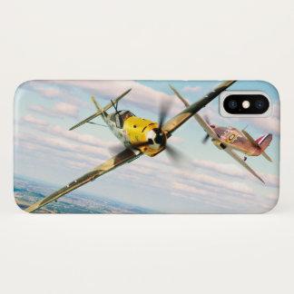 """Aviation Art Device Cass  """"Messerschmitt Bf 109E"""" iPhone X ケース"""