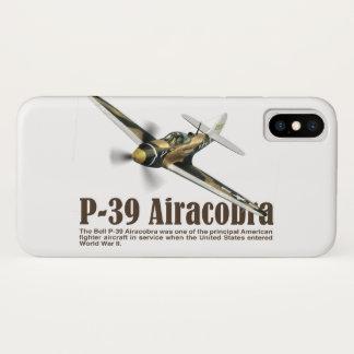 "Aviation Art Device Cass  ""P-39 Airacobra"" iPhone X ケース"