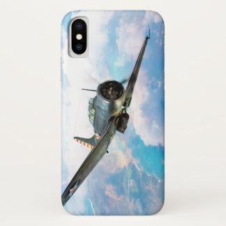"""Aviation Art Device Cass  """"SBD Dauntless"""" iPhone X ケース"""