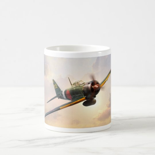 "Aviation Art mug ""A6M Zero"" コーヒーマグカップ"