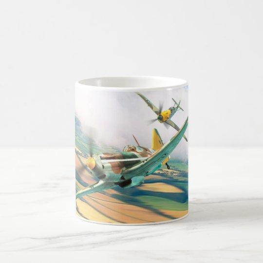 "Aviation Art mug ""Dewoitine D.520"" コーヒーマグカップ"