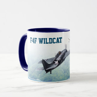 "Aviation Art Mug ""F4F Wildcat"" マグカップ"