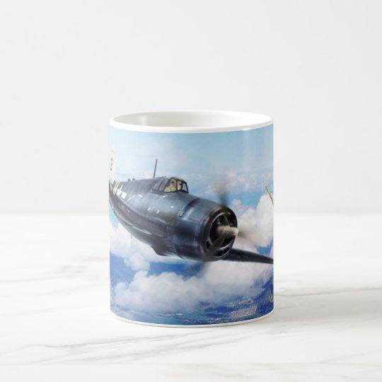 "Aviation Art mug ""F6F Hellcat"" コーヒーマグカップ"