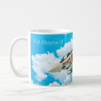 "Aviation Art Mug ""F-4 Phantom II"" コーヒーマグカップ"