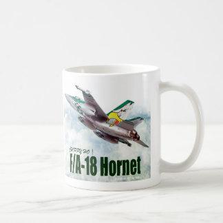 "Aviation Art Mug ""F/A-18 Hornet"" コーヒーマグカップ"