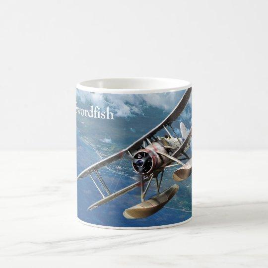 "Aviation Art Mug ""Fairey Swordfish"" コーヒーマグカップ"