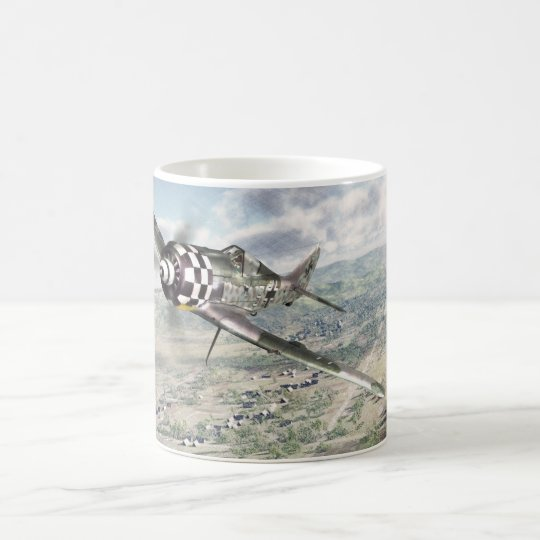 "Aviation Art mug ""Focke-Wulf FW-190A-6 "" コーヒーマグカップ"