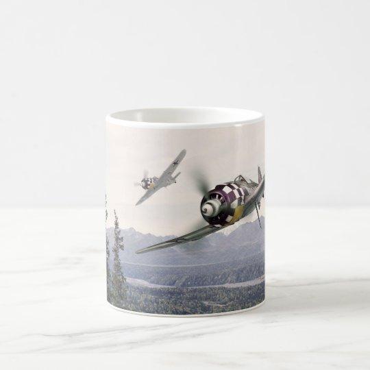 "Aviation art mug""Fw190"" コーヒーマグカップ"