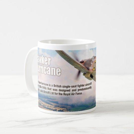 "Aviation Art mug ""Hawker Hurricane"" コーヒーマグカップ"
