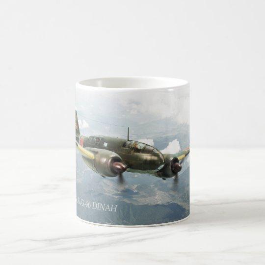 "Aviation Art mug ""Mitsubishi Ki-46 DINAH"" コーヒーマグカップ"