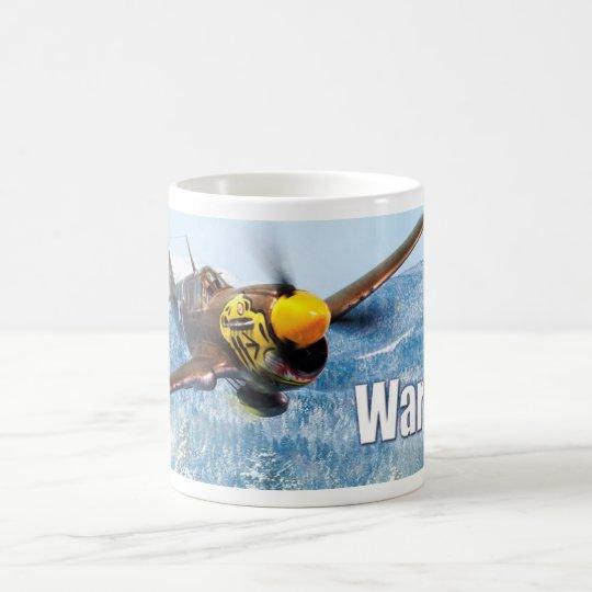 "Aviation Art mug ""P-40 Warhawk"" コーヒーマグカップ"