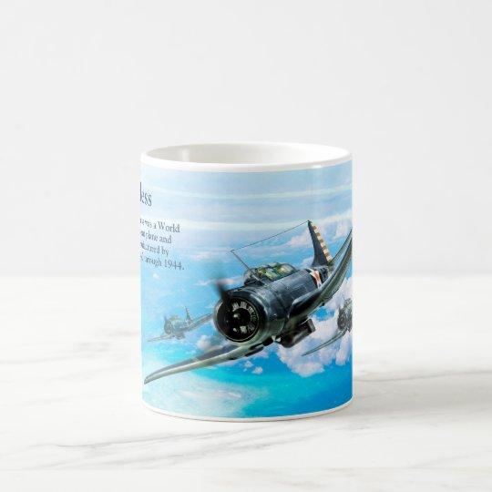"Aviation Art Mug ""SBD Dauntless"" コーヒーマグカップ"
