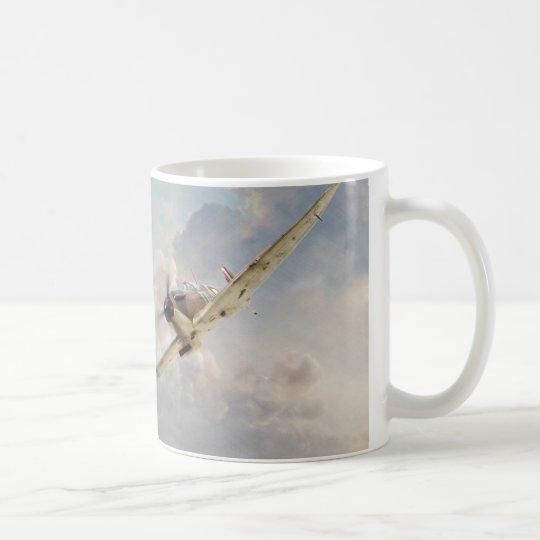 "Aviation art mug ""Spitfire"" コーヒーマグカップ"