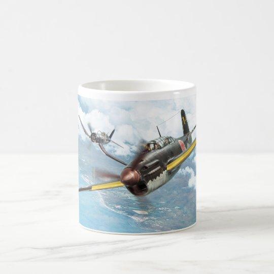 "Aviation Art mug ""Yokosuka D4Y Judy"" コーヒーマグカップ"
