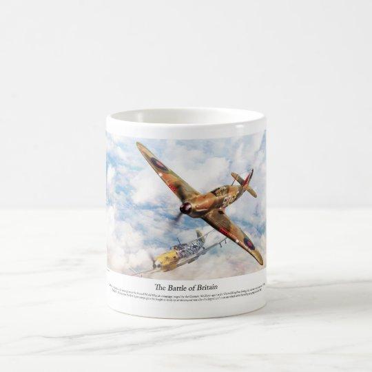 "Aviation Art Poster ""Hawker Hurricane"" コーヒーマグカップ"
