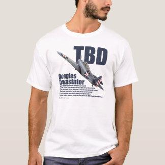 "Aviation Art T-shirt ""Douglas TBD Devastator"" Tシャツ"
