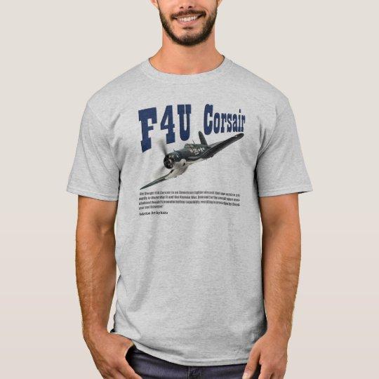 "Aviation Art T-shirt ""F4U Corsair"" Tシャツ"