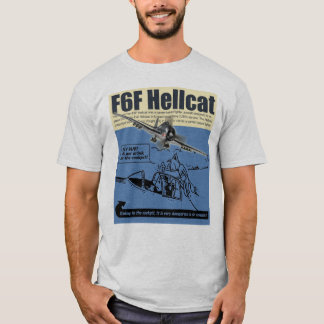 """Aviation Art T-shirt """"F6F Hellcat"""" Tシャツ"""
