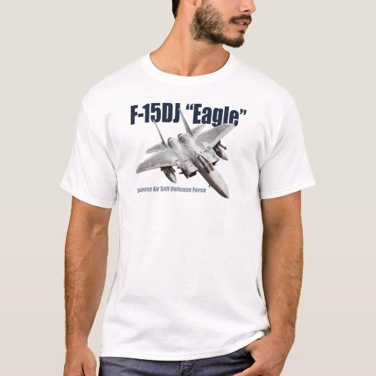 """Aviation Art T-shirt """"F-15DJ Eagle"""" Tシャツ"""