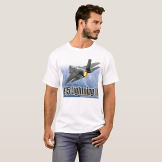 "Aviation Art T-shirt ""F-35 Lightning II"" Tシャツ"
