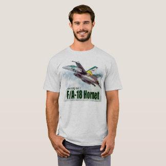 """Aviation Art T-shirt """"F/A-18 Hornet"""" Tシャツ"""